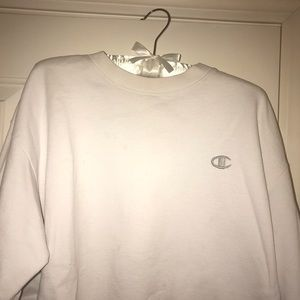 Authentic Champion Sweatshirt White